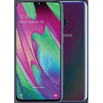 Samsung Galaxy A40 scherm kapot repareren snel onderdelen reparatie fixen etphone home goor