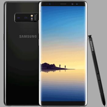 Samsung Galaxy Note8 scherm kapot repareren snel onderdelen reparatie fixen etphone home goor